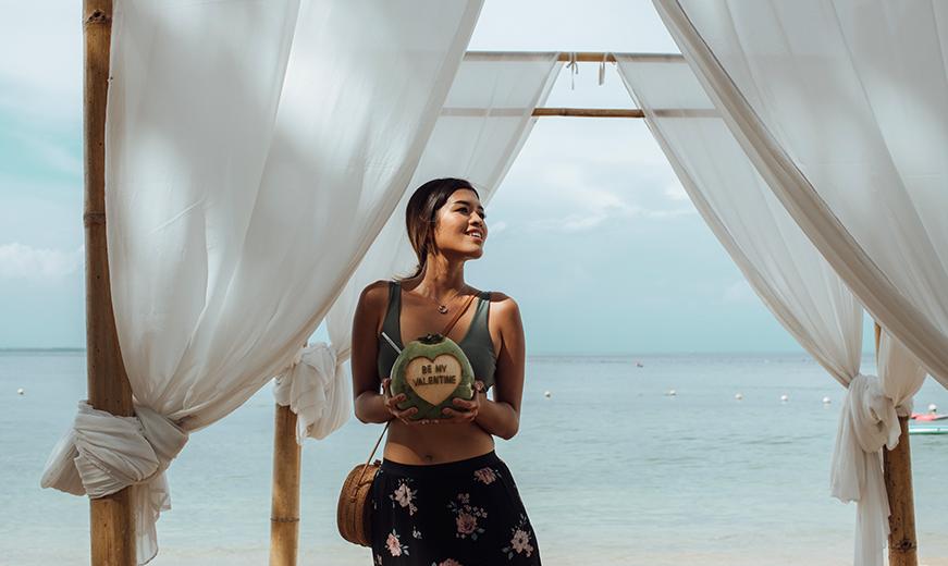 social content taken by mediatropy digital agency bali for melia hotel & resorts