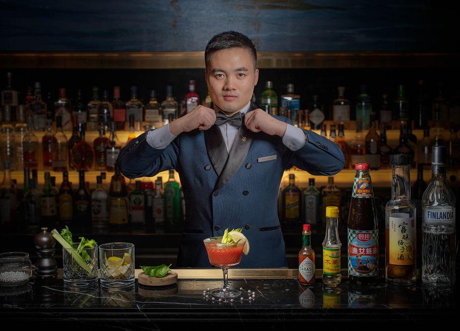 st regis zhuhai bartender photo taken by mediatropy agency