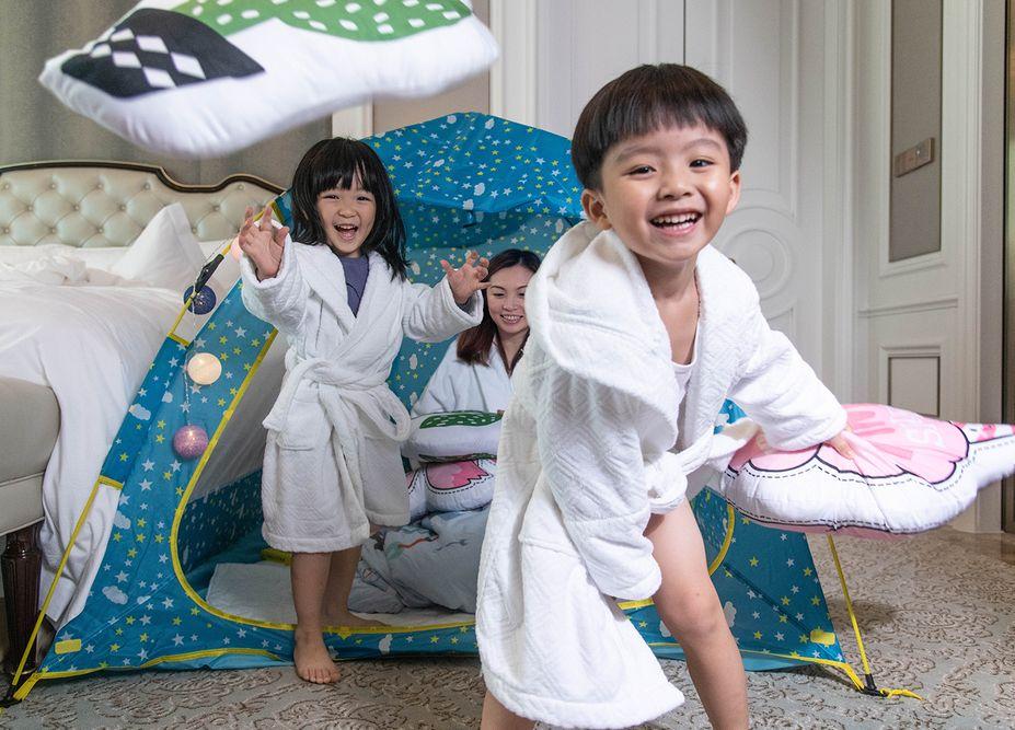 kids fun and enjoy st regis zhuhai, image taken by mediatropy agency